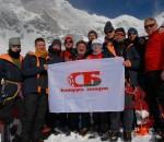 Белорусские альпинисты в километре от вершины Монблана