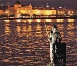 В Праге много воды